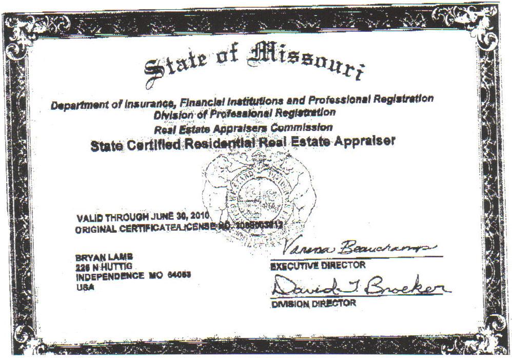 Real Estate Appraisal License Express Apprasials